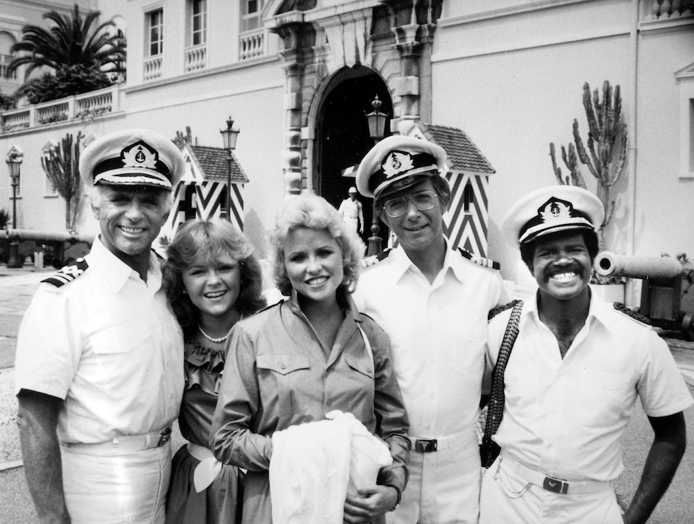 The original cast of The Love Boat, back in the day. Source: Getty