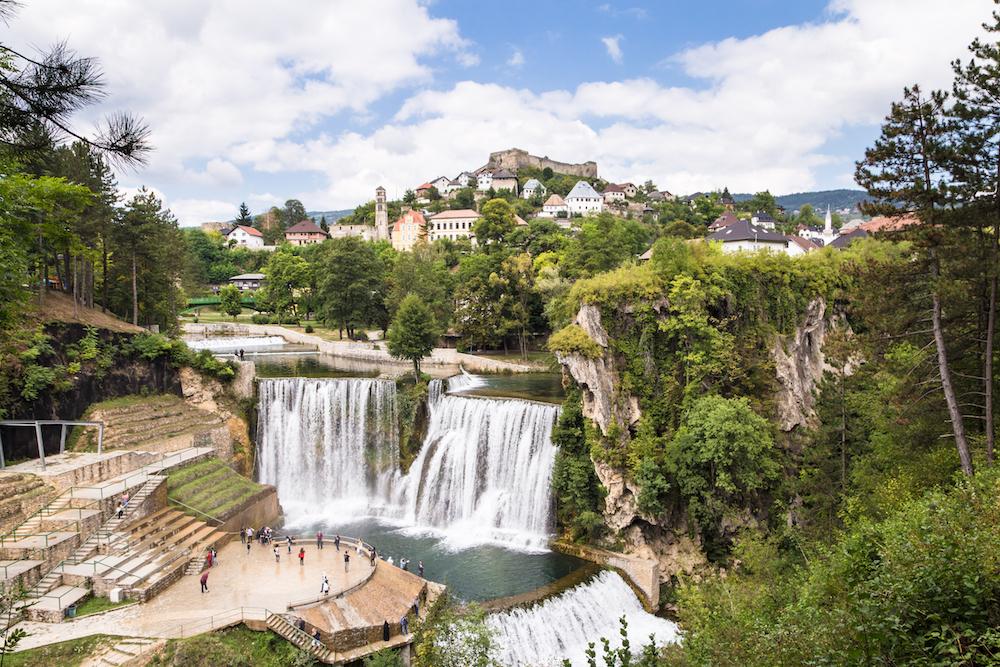 Jajce, Bosnia and Herzegovina. Source: Getty