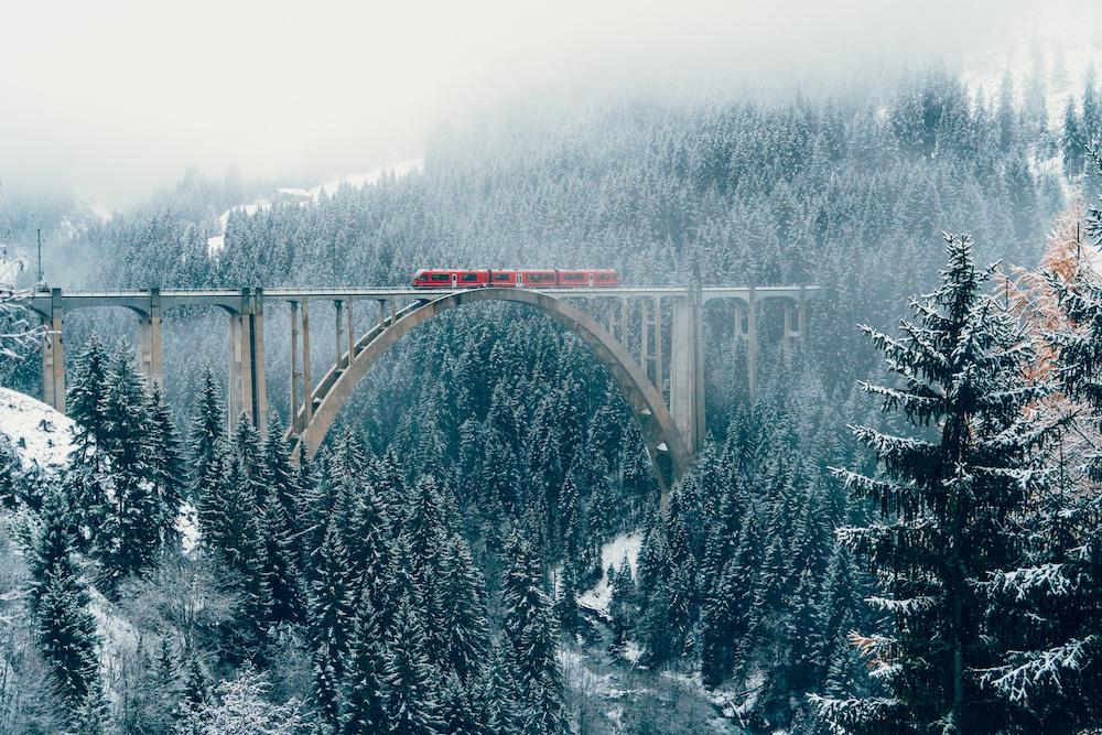 Langwieser Viaduct bridge. Source: Getty