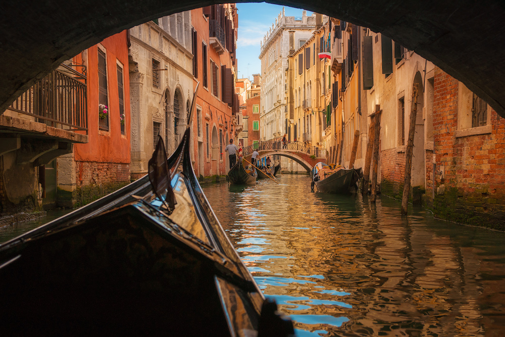 Venice in Italy. Source: Getty
