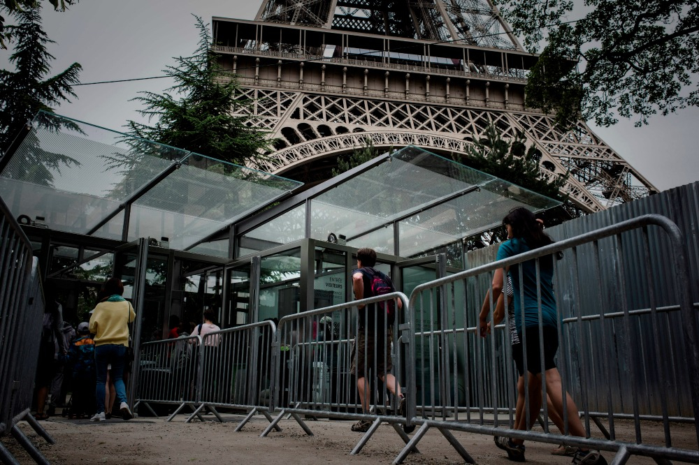 One of the new entrances to the tower for tourists. Source: Getty.