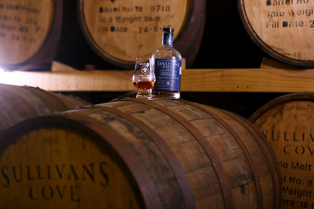 The Sullivan's Cove Whisky Distillery. Source: Getty
