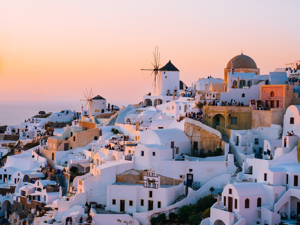 Oia on the Greek island of Santorini. Source: Tom Grimbert/Unsplash
