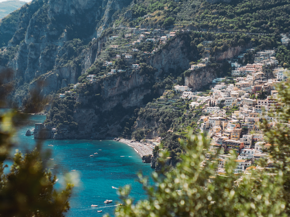 Positano on the Amalfi Coast, Italy. Source: Getty