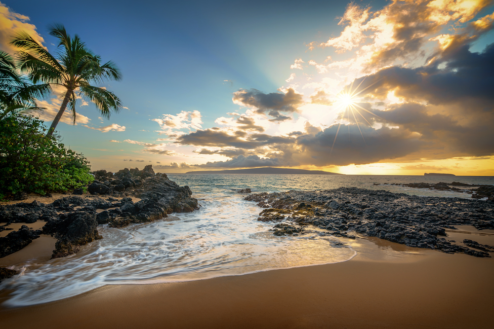 Makena Cove on the Hawaiian island of Maui. Source: Getty