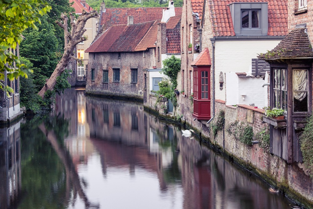 Bruges, Belgium. Source: Getty