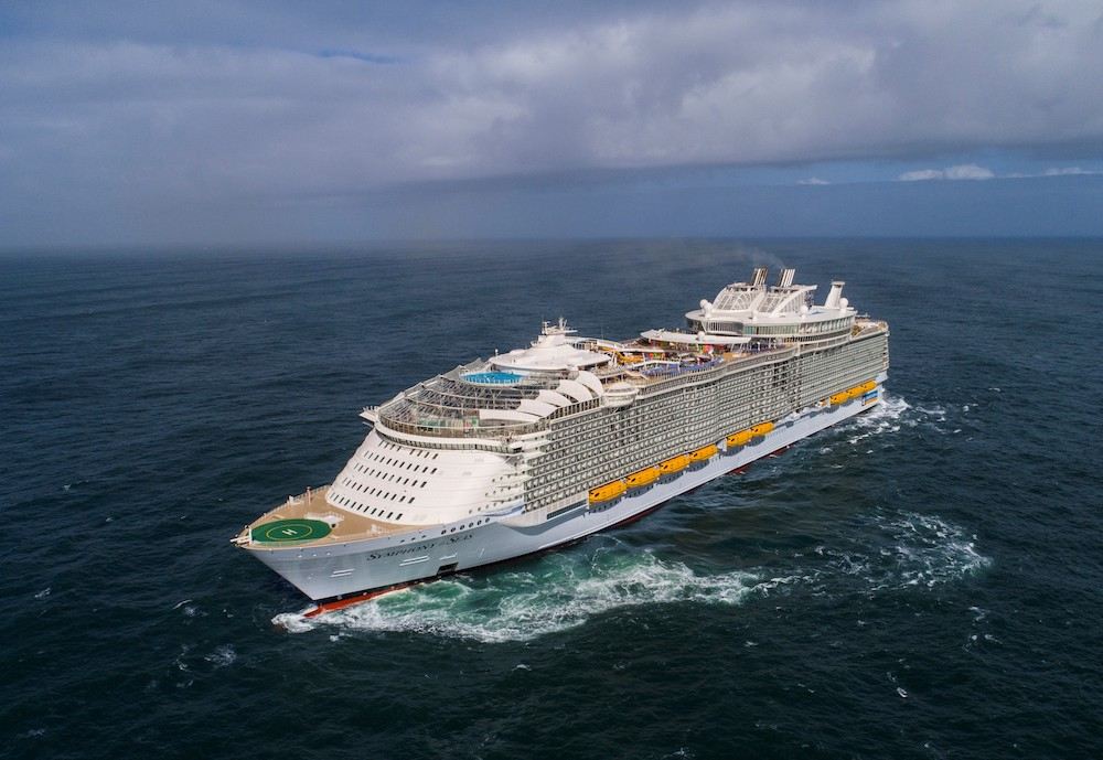 The Symphony of the Seas. Source: Royal Caribbean International