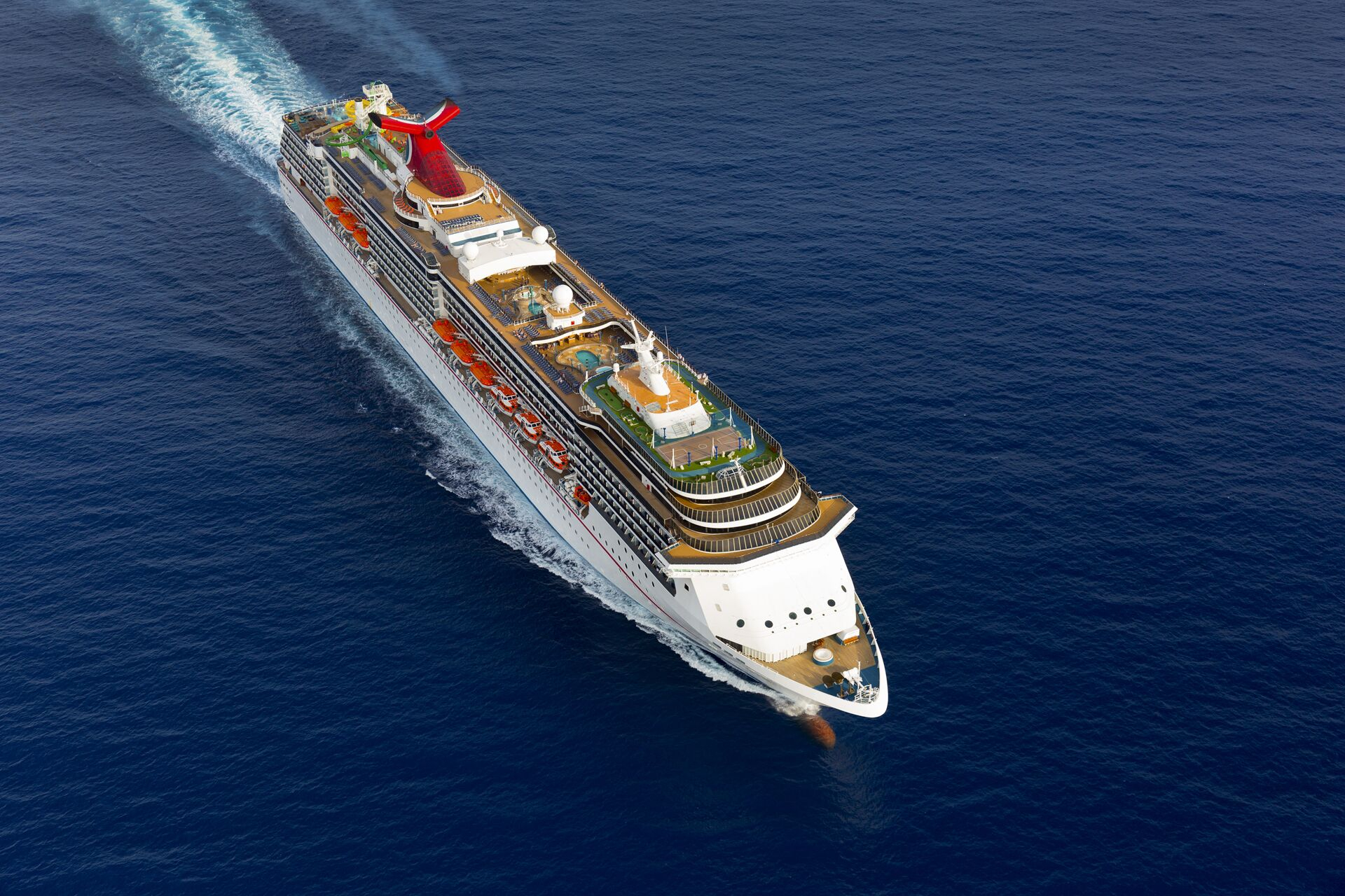 The Carnival Legend. Source: Carnival Cruise Line