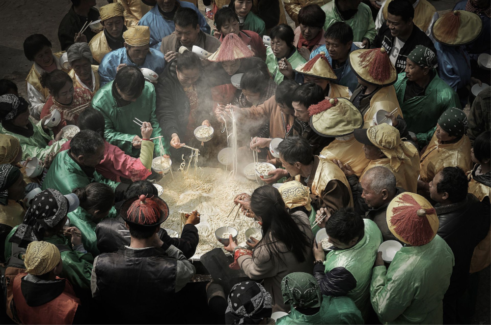 'Big Pot Noodles' by Jianhui Liao. Source: Siena International Photo Awards