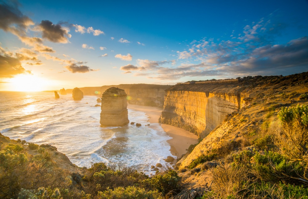 The Twelve Apostles – one of the stops on the Brisbane to Adelaide journey. Source: Getty