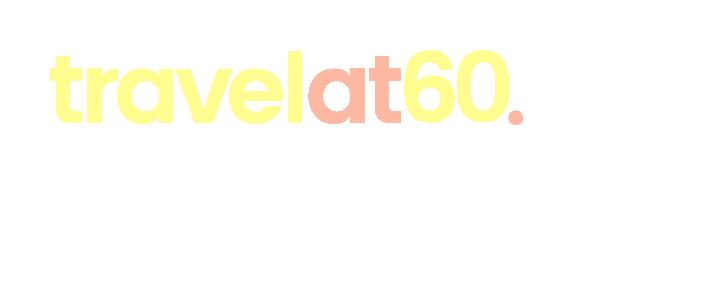Travel at 60 Escapes logo